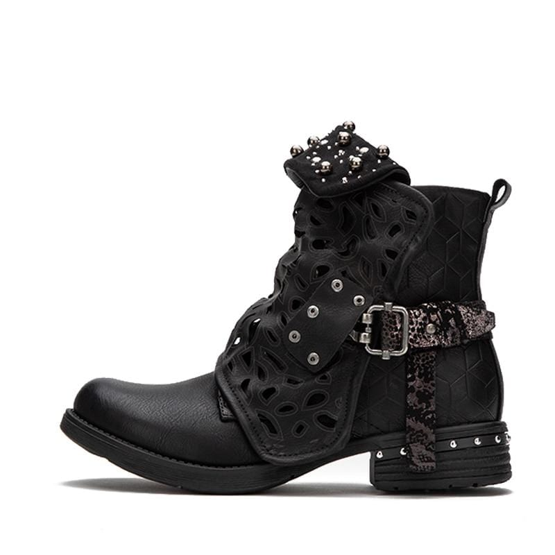 Charlotte's Western Buckle Boots