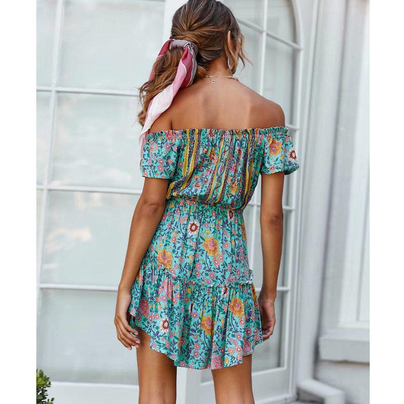 Monserrat's Off Shoulder Mini Dress