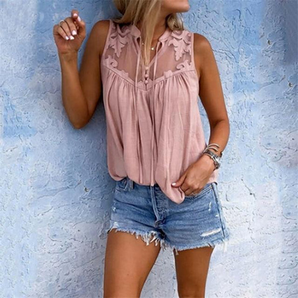 Paisleigh's Blouse Sleeveless Tops