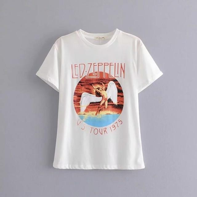 Zepplin's Print T-Shirt