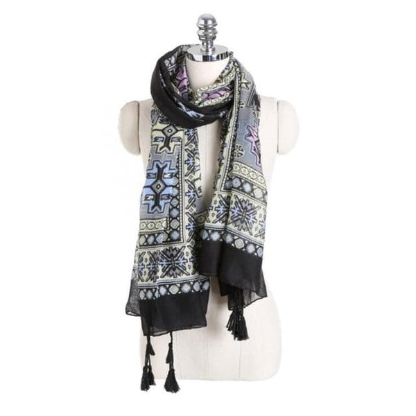 Cora's Ethnic Style Long Scarf
