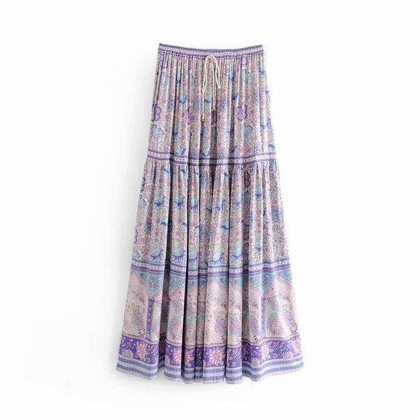 Jennifer Floral Boho Skirt