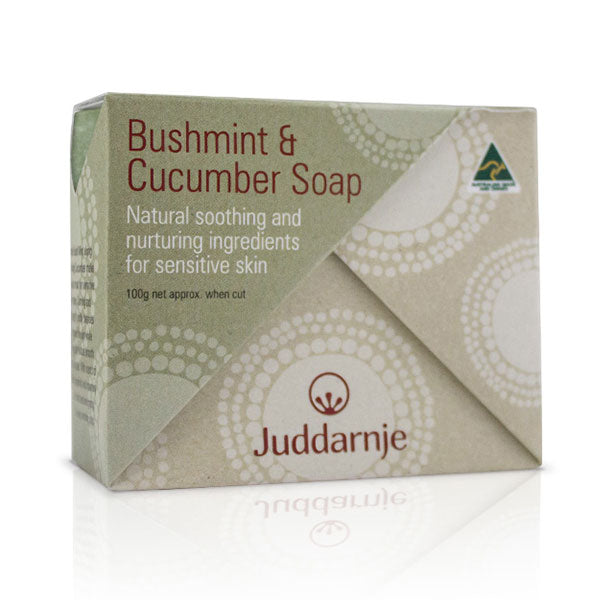 Bush Mint & Cucumber Soap 100g