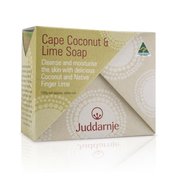 Cape Coconut & Lime Soap 100g