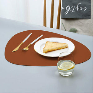 Bicoloured Irregular Shaped Placemat