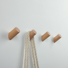 Load image into Gallery viewer, Nordic Wooden Wall Hook