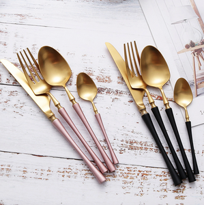 Turned Cutlery (4pc Set)