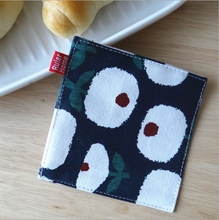 Load image into Gallery viewer, Printed Square Cotton Coaster (4pc Set)