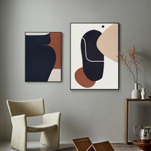 Load image into Gallery viewer, Marrone Abstract Print