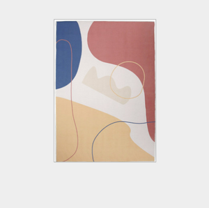Abstract Pattern Area Rug