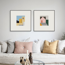 Load image into Gallery viewer, Multicoloured Mi Casa Print
