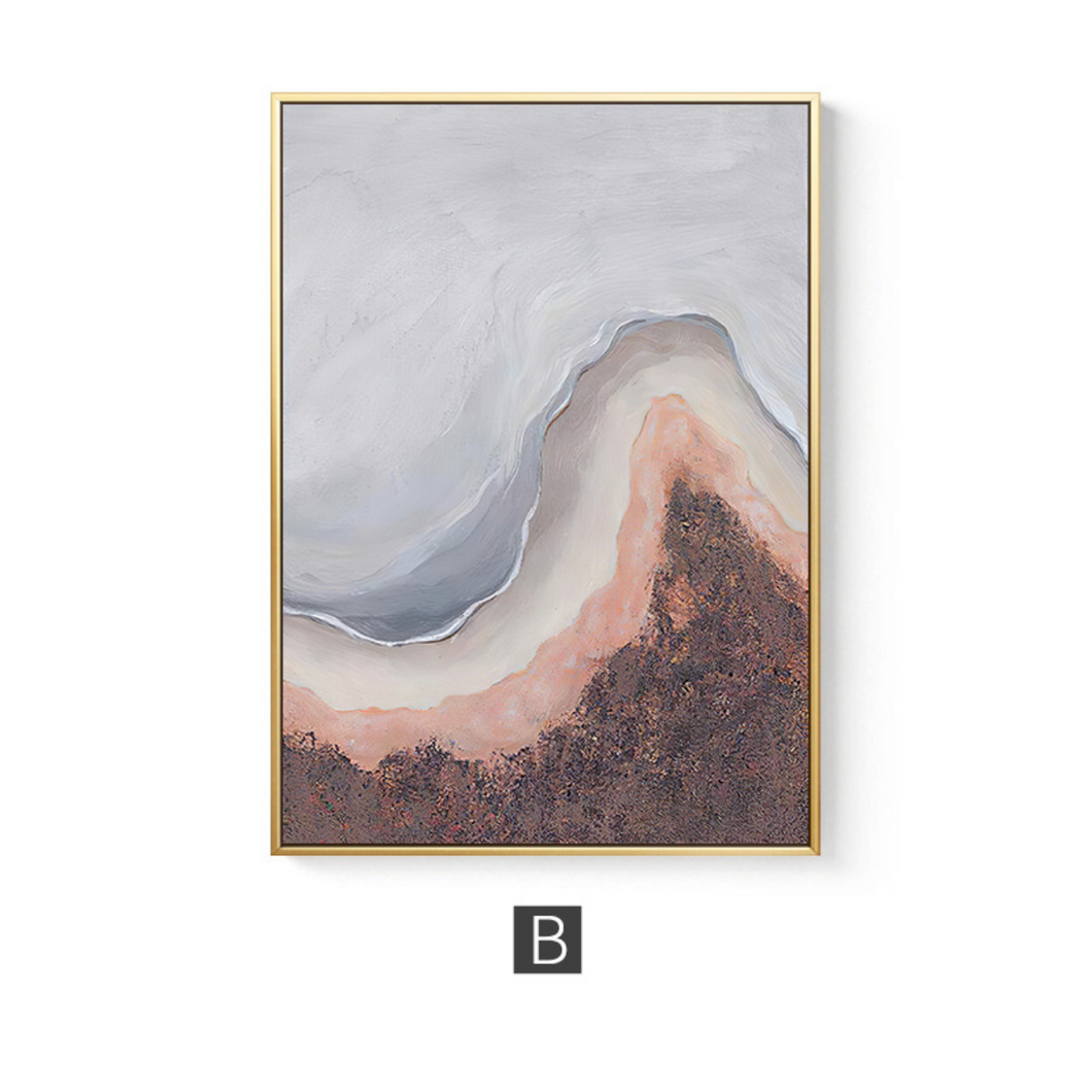 Muted Agate Print