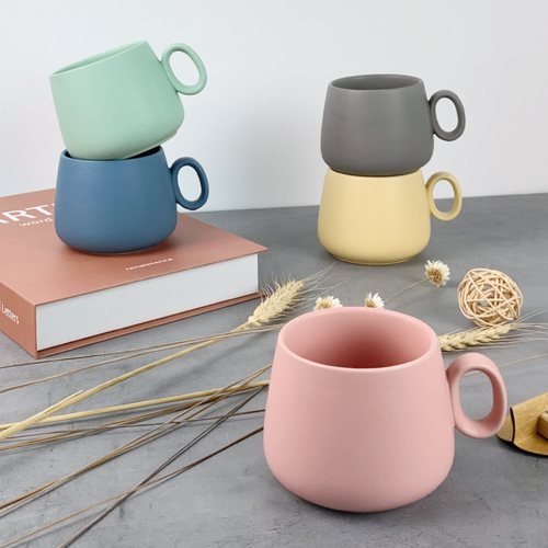 Nordic Irregular-shaped Coffee Cup