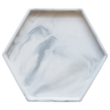 Load image into Gallery viewer, Porcelain Marble Vanity Tray