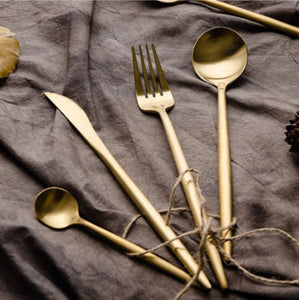 Gold Cutlery (4 pc set)