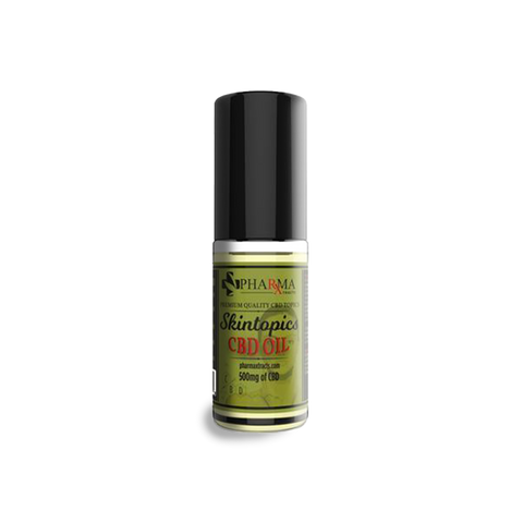 Skintopics CBD Oil 500 mg Roll On