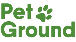 PetGround logo, sustainable cardboard box with natural and fresh grass, is the definitive solution to teach pets to do their needs inside the house in their favorite corner.