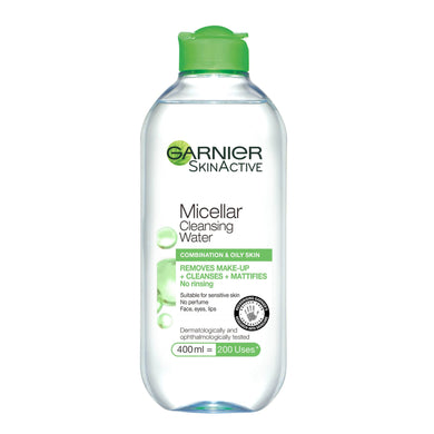 Garner Micellar Cleansing Water Combination & Oily Skin