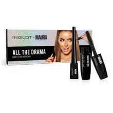 Load image into Gallery viewer, Inglot x Maura All The Drama Eye Set
