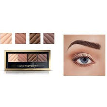 Load image into Gallery viewer, Give Us Beauty  Alluring Nude Smokey Eye Drama Kit Matte & Eyebrow Define | Max Factor give us beauty Grainne McCoy Makeup Artist