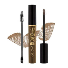 Load image into Gallery viewer, Give Us Beauty  brow gel Soft Brown GBG382 Brow Bestie Long Wearing Gel 2 Piece Kit | L.A. Girl give us beauty Grainne McCoy Makeup Artist