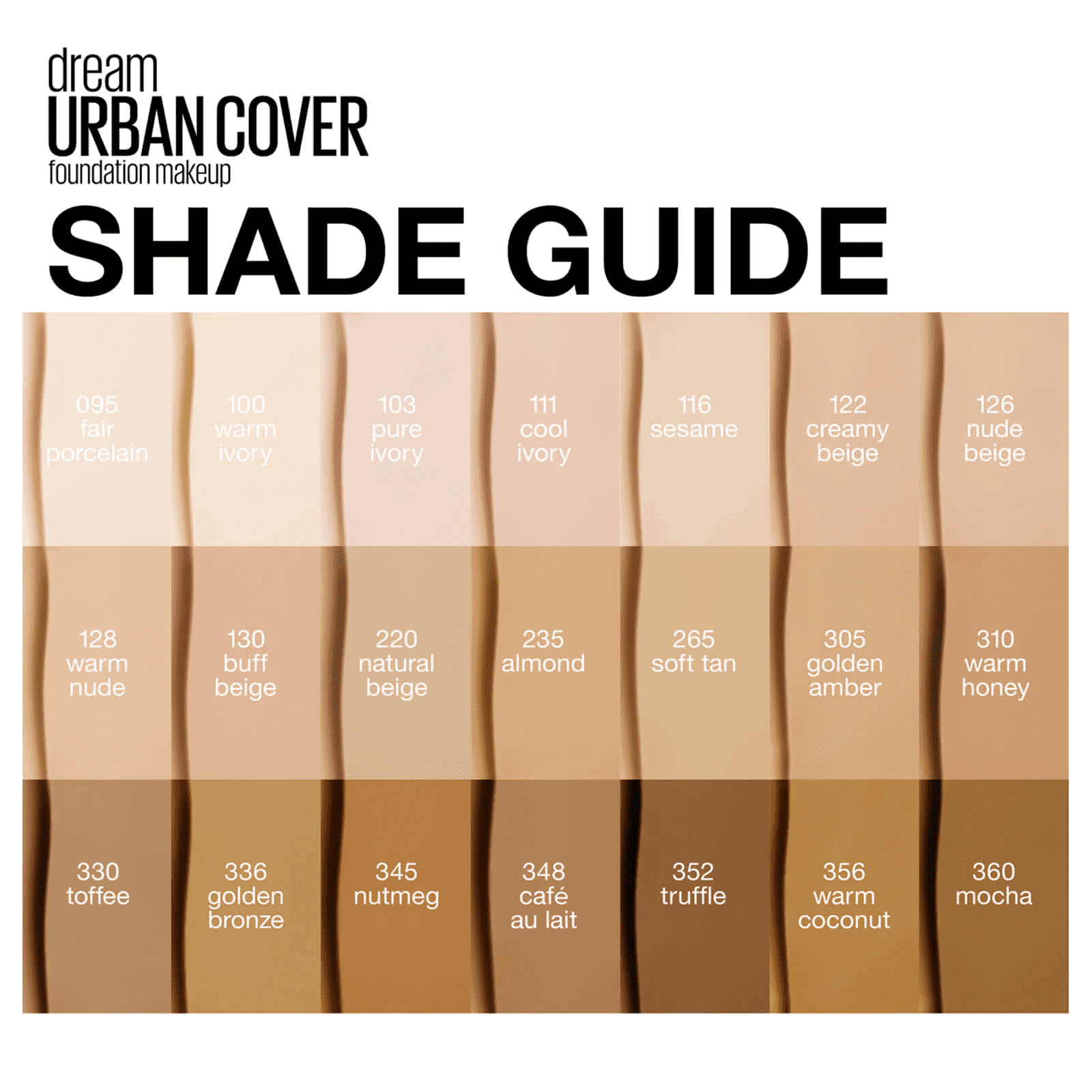 Maybelline Dream Urban Cover Flawless Coverage Foundation – Give Us Beauty