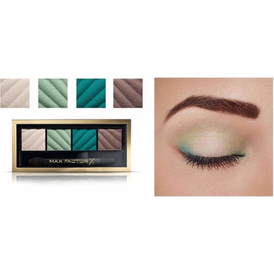 Give Us Beauty  Hypnotic Jade Smokey Eye Drama Kit Matte & Eyebrow Define | Max Factor give us beauty Grainne McCoy Makeup Artist
