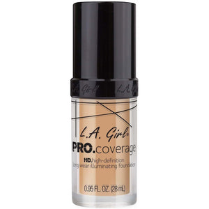 Grainne McCoy Cosmetics FOUNDATION MAKEUP Natural 644 Pro Coverage Foundation | L.A Girl give us beauty Grainne McCoy Makeup Artist