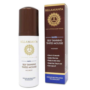 elf Tanning Tinted Mousse - MEDIUM | Bellamianta Tan - Give Us Beauty