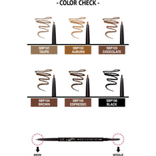 Load image into Gallery viewer, JCat Beauty brow pencil Pro-cision Micro Slim Brow Pencil | JCat Beauty give us beauty Grainne McCoy Makeup Artist