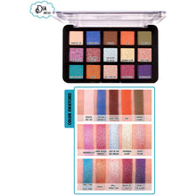 Load image into Gallery viewer, Cop Tri-Element 15 Shadow Palette - Dia & Noche | JCat Beauty - Give Us Beauty