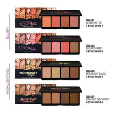 Load image into Gallery viewer, L.A Girl Blusher Fanatic Blush Palette | L.A Girl give us beauty Grainne McCoy Makeup Artist