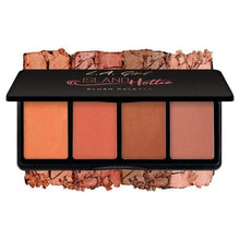Load image into Gallery viewer, L.A Girl Blusher Island Hottie Fanatic Blush Palette | L.A Girl give us beauty Grainne McCoy Makeup Artist