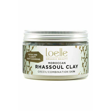 Green Moroccan Rhassoul Clay | Loelle Organic Beauty - Give Us Beauty