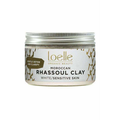 Moroccan White Rhassoul Clay | Loelle Organic Beauty - Give Us Beauty