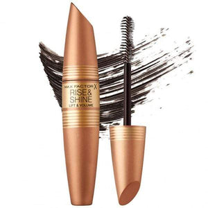 max Factor Mascara BlackBrown Rise & Shine Mascara | Max Factor give us beauty Grainne McCoy Makeup Artist