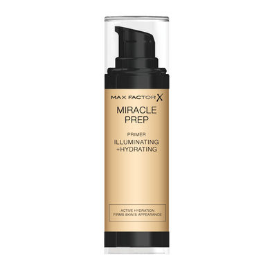 Max Factor Primer Max Factor Miracle Prep Illuminating & Hydrating Primer give us beauty Grainne McCoy Makeup Artist