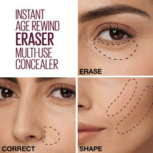 Load image into Gallery viewer, Maybelline Concealer Instant Anti Age Eraser Multi-Use Concealer give us beauty Grainne McCoy Makeup Artist
