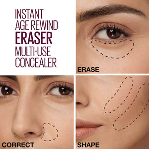 Maybelline Concealer Instant Anti Age Eraser Multi-Use Concealer give us beauty Grainne McCoy Makeup Artist