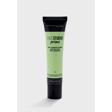 Maybelline Primer 30 Anti Redness Maybelline Face Studio Anti Redness Primer give us beauty Grainne McCoy Makeup Artist