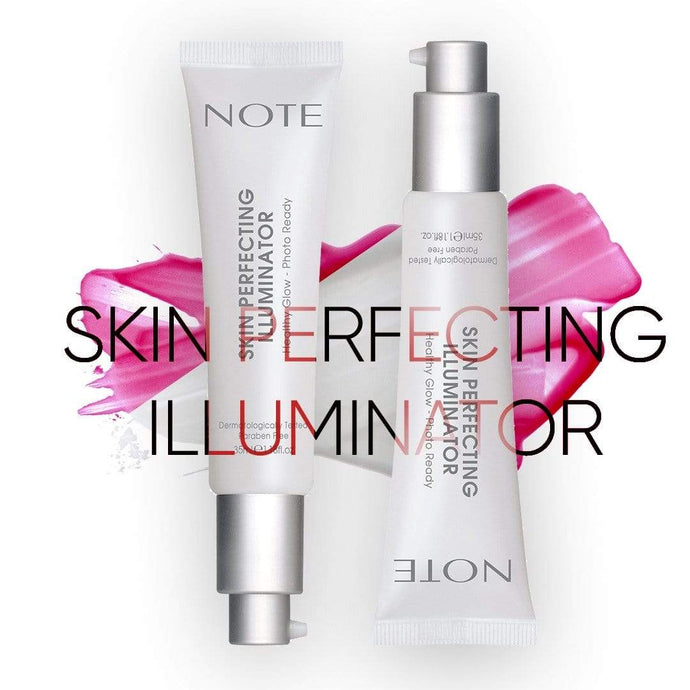 Note Cosmetics Primer Perfecting Skin Illuminator | Note give us beauty Grainne McCoy Makeup Artist