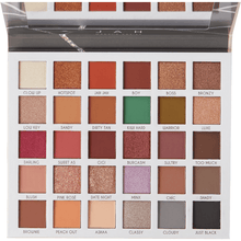 Load image into Gallery viewer, Perfect eyeshadow Clientele Palette JAH | Perfect give us beauty Grainne McCoy Makeup Artist