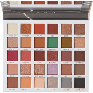 Perfect eyeshadow Clientele Palette JAH | Perfect give us beauty Grainne McCoy Makeup Artist
