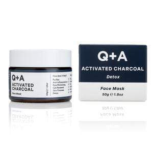 Q+A Face Mask Activated Charcoal Detox Face Mask | Q+A give us beauty Grainne McCoy Makeup Artist