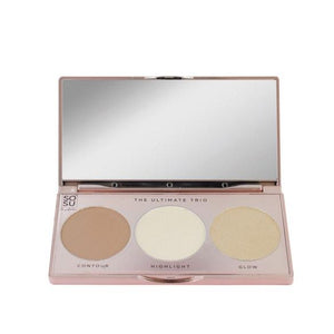 SoSu Contour Palette Ultimate SoSu by SJ The Ultimate Trio Contour & Highlight Palettes give us beauty Grainne McCoy Makeup Artist