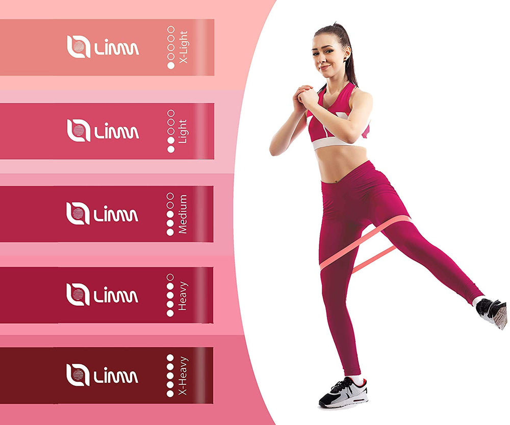 Pink Resistance Flexbands