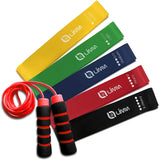 Limm Resistance Bands and Limm Red Plastic Jump Rope