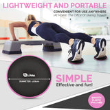 Pink Core Sliders for Working Out - Exercise Sliders Fitness Set of 2
