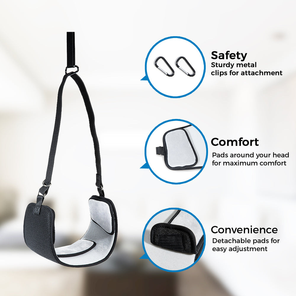 Neck and Head Hammock  Portable Cervical Neck Traction Device