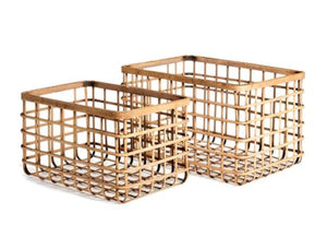 River Bamboo Basket
